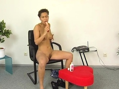 Hairy Black Torrid Cougar Pearly Toying