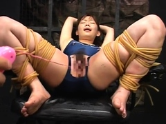Asian Fingerblasting Her Furry Pussy