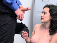 Teen Thief Is Getting Her Cunt Licked