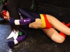 Latex femdom bdsm marteling