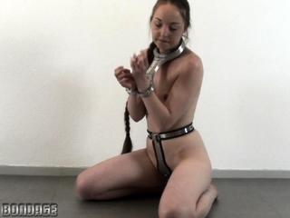 Darina Striptease masturbation and facial