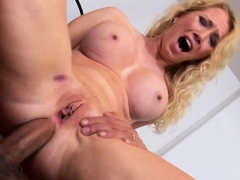 Ass to Mouth With Big Tits Blonde MILF Nicki Blue