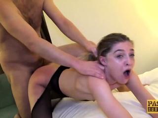 PASCALSSUBSLUTS - Skinny Sub Rhiannon Ryder Pussy Dominated