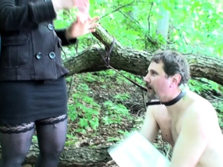 water humiliation outdoor by cruel goddess gloria
