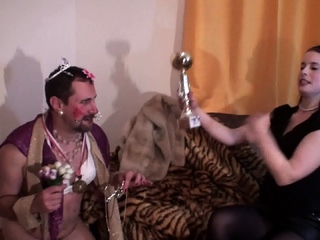 goddess Gloria humiliate joschi to a funny object