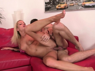 His old dad licks and fucks her young pussy