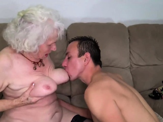 curvy old hairy mom rough fucked by toyboy
