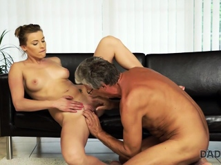 DADDY4K. Guy is surprised to catch his GF and father