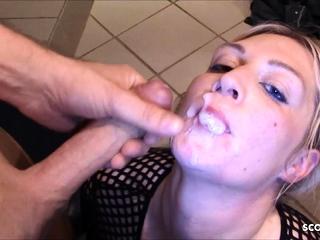 German Curvy BBW Saggy Tits Teen Amateur Threesome Fuck