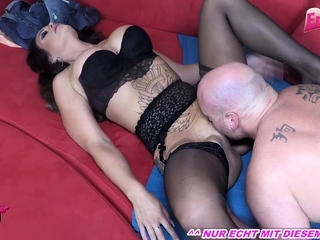 german real amateur porn casting with big tits milf
