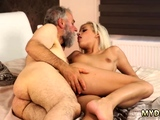 Lucky old fart xxx Surprise your girlally and she will