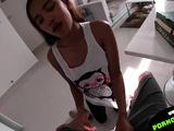 Thai girl cheating boyfriend