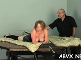 Passionate chick is a who used to masturbate