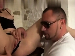Two amateur babes eat clit and lick cock