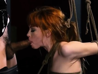 The bondage channel orgasm bar When he's finished cruelly
