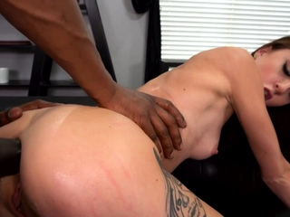 Skinny Kendra Cole Wants Anal Creampie From A Big Black Cock