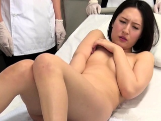 Small titted brunette amateur anal nailed at home