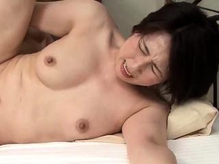 Hardcore and facial with asian satomi morita