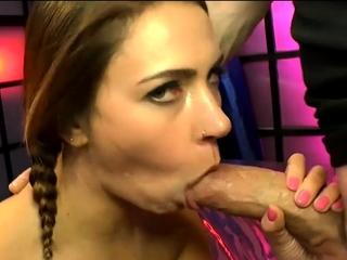 Ani black fox with big butt gets cums and facials