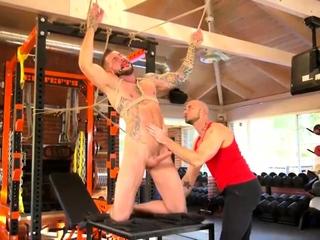 Dolf Dietrich Cock Workout