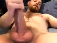 Str8 Daddy with Bigdick Shoots a Powerful Cumshot 156