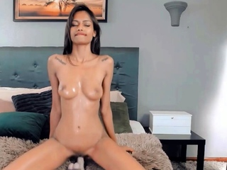 Hot Indian belle Anna makes you admire her sensual breasts