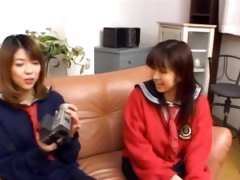18 years old japanese girl on the couch